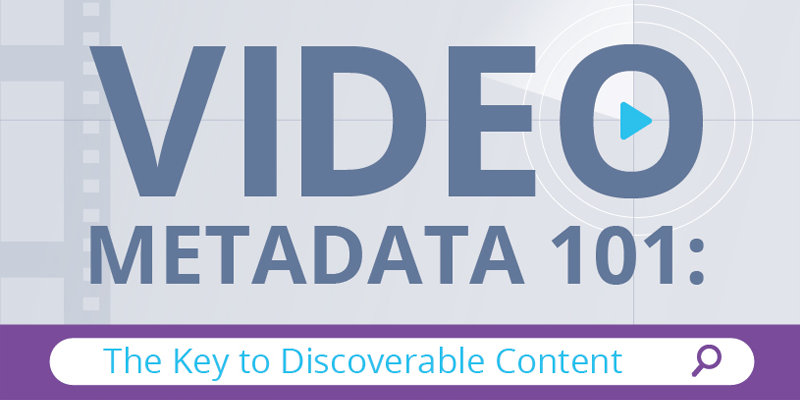 Infographic: Video Metadata 101